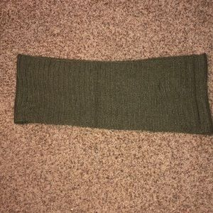 forest green infinity scarf